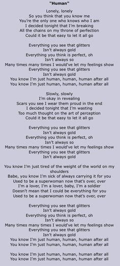 Human by Cher Lloyd