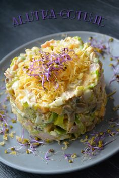 Appetizer Recipes, Salad Recipes, Cooking Recipes, Healthy Recipes, Polish Recipes, Snacks, Creative Food, Us Foods, Food Dishes