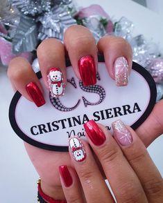 Nail Spa, Holiday Nails, Make Up, Beauty, Instagram, Christmas Nails, Disney Nails, Toe Nail Art, Short Gel Nails