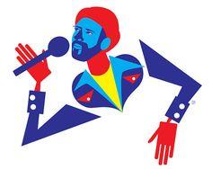 Marvin Gaye Art Print  Soul Music Portrait by thepairabirds, $15.00