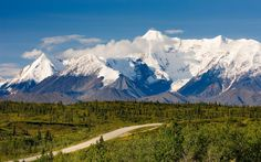 The trip from Anchorage to Valdez, which connects Glenn and Richardson highways, runs past prehistoric glaciers and into mountain ranges with so many 14,000-foot peaks a lot of them haven't even been named.