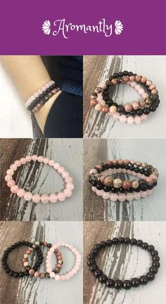 Buy The Best Stacked Bead Bracelet Online Rose Quartz Bracelet, Stone Bracelet, Stone Jewelry, Bracelet Set, Quartz Jewelry, Crystal Drawing, 3d Printed Jewelry, Crystal Bracelets, Stones And Crystals