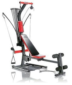Over 30 strength exercises From 5 to 210 pounds of resistance via power rods Sliding seat rail adds aerobic rowing training