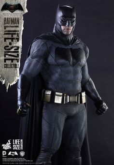 Batman v Superman - Life Size Batman Statue by Hot Toys - The ...