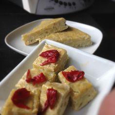 Tortilla de patatas en Varoma con Thermomix
