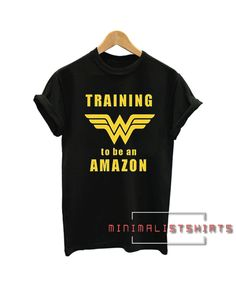 Wonder Woman Training to be an Amazon Tee Shirt Affordable Clothes, Cheap Clothes, Clothes For Sale, Affordable Fashion, Cool Girl Style, Apparel Clothing, Tee Shirts, Tees, Trendy Outfits