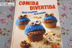 Comida divertida, ideas creativas en la cocina  Nina Engels NGV Editorial ISBN 978-3-625-00317-5 Precio 8,95 euros