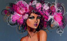 feminine artwork | Sally K // Paintings