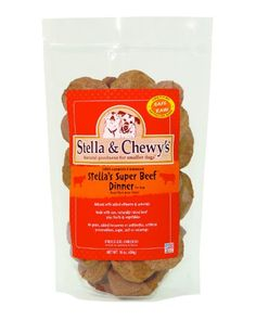 Stella & Chewy's Freeze Dried Dog Food for Adult Dogs, Beef Patties, 32 Count, 16 Ounce Bag Gourmet Dog Treats, Homemade Dog Treats, Dog Treat Recipes, Healthy Dog Treats, Dog Food Recipes, Organic Dog Treats, Natural Dog Treats, Greenies Dog Treats, Wet Dog Food