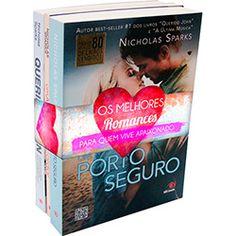 Livro - Combo Nicholas Sparks: Um Porto Seguro / Um Amor Para Recordar / Querido John