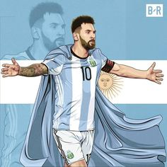 Messi, O salvador argentino. Messi Argentina, Argentina Football Team, Argentina Soccer, Football Is Life, Football Art, Cr7 Junior, Lionel Messi Wallpapers, Argentina National Team, Messi Photos