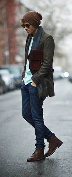 Moda para hombre (invierno) By: FELIPE ROMERO
