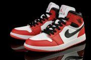 Air Jordan 1 Retro White Black-Red Shoes