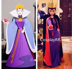 Sellers in CosplayRR offer costumes with standard size and customized size.For standard size, sellers will custom the costume for you according to the size chart above. Please do check the size chart before ordering.For customized size, please provide sellers the detail measurements as below (inch or CM).1 Height2 Bust Disney Halloween, Evil Queen Halloween Costume, Family Halloween, Diy Halloween Costumes, Cool Costumes, Adult Costumes, Costume Ideas, Belle Blue Dress Costume, Diy Princess Costume