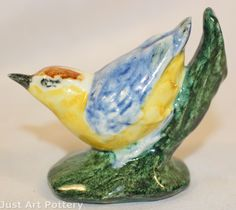 Stangl Pottery Nuthatch Bird Figurine 3593 from Just Art Pottery