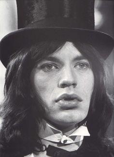 Mick Jagger,1968.