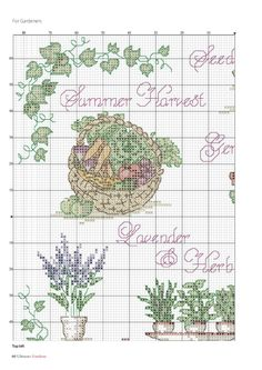 Gallery.ru / Фото #59 - Ultimate Cross Stitch Gardens №14 2017 - Chispitas