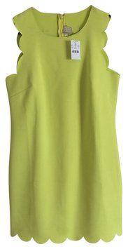 J.Crew Neon Neoprene Dress