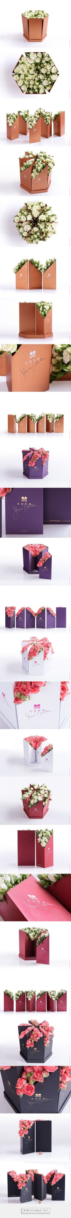 Coco Fiori - Flowers packaging made for sharing - Design by Backbone Branding (Armenia) - http://www.packagingoftheworld.com/2016/07/coco-fiori-share-collection.html