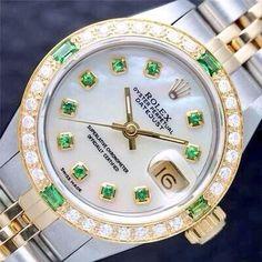 Diamond emerald Rolex