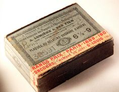vintage, type, packaging