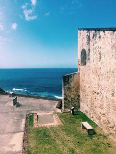 puerto rico, castillo, and view-bilde