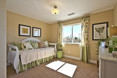 A perfect Spring bedroom at Sienna Park - Longmont, CO New Homes   HenryWalkerHomes.com