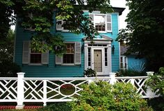 House of Turquoise: Turquoise House