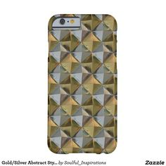 Gold/Silver Abstract Style IPhone 6 Case