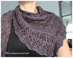 My heaven by Patusha Poncho Knitting Patterns, Knitted Poncho, Knitted Shawls, Lace Knitting, Knit Patterns, Knitting Ideas, Filet Crochet, Knit Crochet, Pretty Patterns