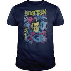 awesome Star Trek Classic Crew Illustrated  Check more at http://geektshirts.xyz/name-tshirts/star-trek-classic-crew-illustrated-discount