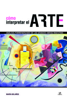 como interpretar el arte-maria bolaños atienza-9788466233439