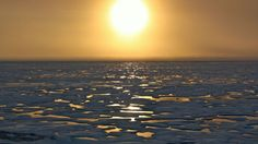 Sunsets started to tease the Arctic horizon as scientists on board the U.S. Coast Guard Cutter Healy headed south in the Chukchi Sea during the final days collecting ocean data for the 2011 ICESCAPE mission.