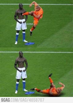 He'll get him next time : )