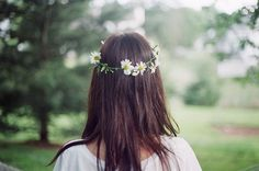 Imagen de flowers, girl, and hair