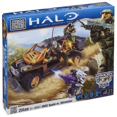SkirmisherEstablish your army, build and expand your units with the Halo UNSC Spade vs. Skirmisher by Mega Bloks. Building Sets For Kids, Building Blocks Toys, Halo Lego Sets, Simpson Tv, Halo Mega Bloks, Halo Collection, Mega Blocks, Black Friday Specials, Kits For Kids