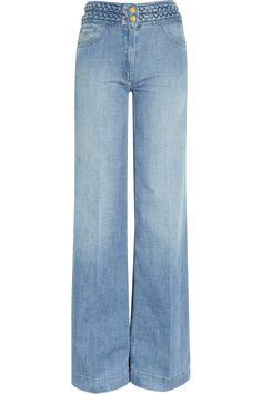 High Rise Wide Leg Jeans | SandroPop high-rise wide-leg jeans- summer wear