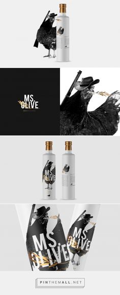 Ms. Olive Olive Oil Packaging by Chiapa Design | Fivestar Branding Agency – Design and Branding Agency & Curated Inspiration Gallery