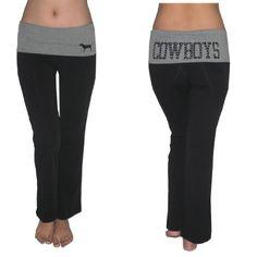 Pink Victoria's Secret Womens NFL Dallas Cowboys Comfortable Casual-wear Lounge pants / Yoga Pants - Black (Size: L) Victoria's Secret. $34.99. Save 41%!