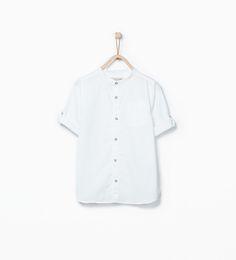 Woven shirt-Shirts-Boy (3-14 years)-KIDS   ZARA United States