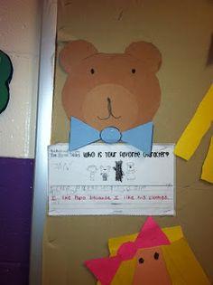 Mrs. Black's Bees: Goldilocks and the Three Bears- Favorite CHaracter