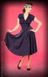 Kleid Odette- Lou blau