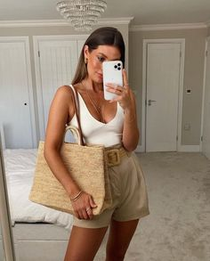 Hot Summer Outfits, Spring Summer Fashion, Spring Outfits, Elegant Summer Outfits, Classy Outfits, Chic Outfits, Fashion Outfits, Womens Fashion, Fashion Ideas