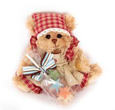 "Bukowski Teddy Bear ""Helin"" and a soap lollipop (with a nice fragrance). #Bukowski #teddy #teddybear #toy #gift  #soap #cute"