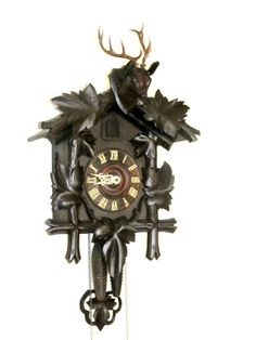 Black Forest Vintage Cuckoo Clock...my grandma had one.