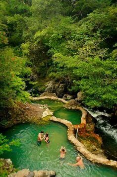 Thermal Hot Springs. Costa Rica
