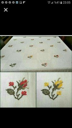 ponto reto - toalhabordado bargello o florentino ile ilgili görsel sonucu Cross Stitch Borders, Cross Stitch Rose, Cross Stitch Flowers, Cross Stitch Designs, Cross Stitching, Cross Stitch Patterns, Ribbon Embroidery, Cross Stitch Embroidery, Embroidery Designs
