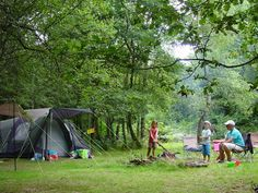 Laid back camping in the green and pleasant land of limousin france limousin medium