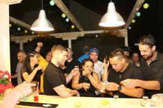 the opening of the bar: fotografía de Pura Vida Sky Bar & Hostel ...