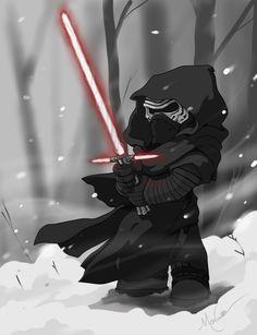 Star Wars the Force Awakens Kylo Ren Brian Moncus art